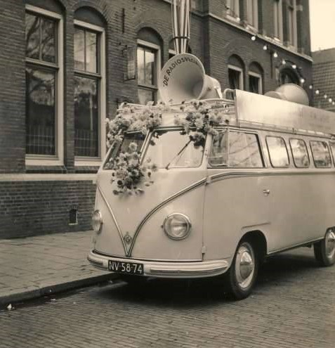 """NV-58-74 Volkswagen Transporter bestelwagen 1955 • <a style=""""font-size:0.8em;"""" href=""""http://www.flickr.com/photos/33170035@N02/29592733304/"""" target=""""_blank"""">View on Flickr</a>"""