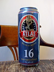 Atlas Megastrong 16% ABV (knightbefore_99) Tags: beer cerveza pivo can ale strong great import atlas megastrong holland lager pale hops malt booze drink