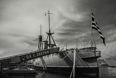 So that we won't forget (Kostis Tatakis) Tags: averof battleship ship port harbor harbour history museum blackandwhite blackwhite bw monochrome dramatic sea ww2 nikon nikond nikond80 greece