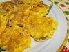 Mini-tortilhas com esparguete