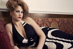Here's a seat... (DArt 84) Tags: portrait woman girl fashion pose donna model glamour moda makeup pillow sofa lie napoli lying ppg divano ritratto ragazza trucco posa modella cuscino steso stesa acconciatura pentaxk10d pentaxphotogallery tamronsp1750lddixr
