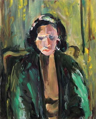 01 óleo sobre lienzo   69x56 cm 1978 (arteneoexpresionista) Tags: rando jorge figuras pinturas neoexpresionismo