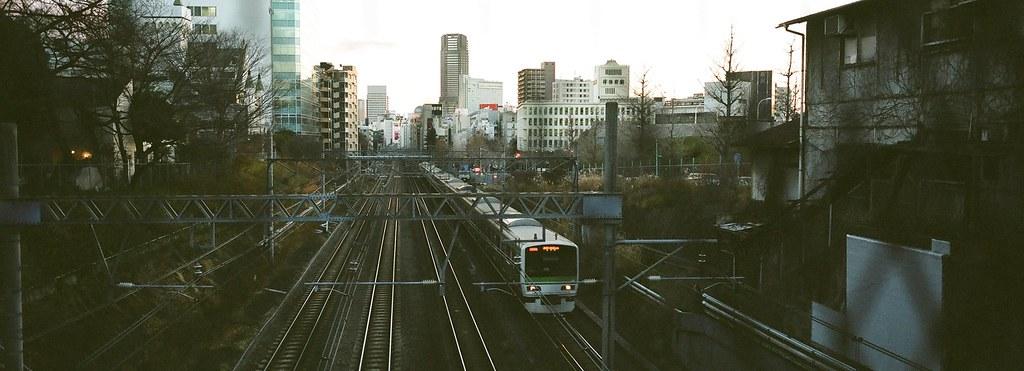 Yamanote line in Harajuku