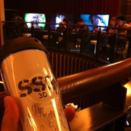 攻殻SSS3D観に来た。凄い混みよう...