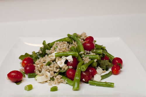 031127 Green Bean and Barley Salad 013