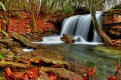 Laurel Falls (the waterfallhunter) Tags: waterfall nikond50 desotostatepark hdr laurelcreek laurelfalls dekalbcounty fortpaynealabama alabamawaterfalls loriwalden