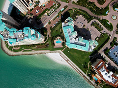 High Over Marco Island, Florida and Caxambus Pass - Picture Taken from a Kite (Wind Watcher) Tags: kite canon island florida pass sdm cape marco kap dopero s95 windwatcher chdk caxambus