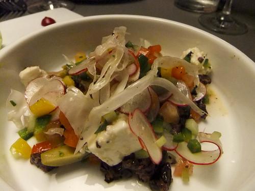 Greek Spoon Salad, Fish Tag