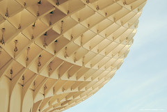 Degradado (Alejandro (L Delfos)) Tags: li sevilla monumento ruinas parasol encarnacion metropol moderno setas delfos l metropolparasol