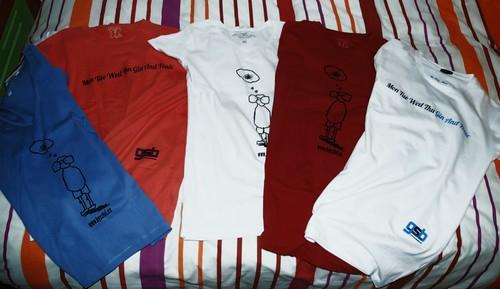 Gin Soaked Boy T-shirts
