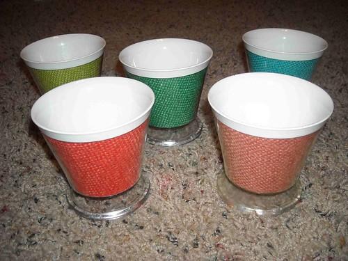 Burlap Dessert Cups