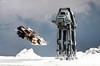 """That armor's too strong for blasters."" (Blockaderunner) Tags: star back lego luke empire leader wars rogue strikes atat hoth skywalker snowspeeder 8089 8129 t47"