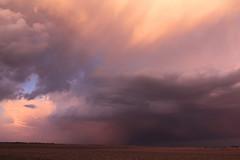 IMG_1682 (toodamnice) Tags: sunset sky storm weather clouds shower illinois il cumulus thunderstorm heyworth thunderhead cumulonimbus rainshower virga t2i