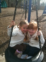 Fun with cousin Ella by PrincessKaryn