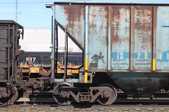 BIG MILES SDK (euphonic.) Tags: winter canada car cn train bench stock canadian national graff railfan freight rolling graffii sluts rollingstock benching