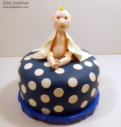 Aras'ın Baby Shower Pastası