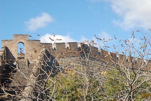 Blick auf die Mauer vom Vorposten aus