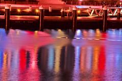 Glow at night (Dawn Woodhouse) Tags: red rot night rouge lights rojo nikon purple sydney australia darlingharbour rood rosso ahmar wow1 kokino crven nikond90 dawnwoodhouse theelitephotographer