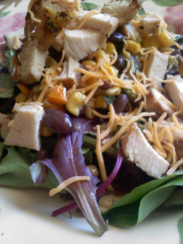 Sante Fe Grilled Chicken Salad