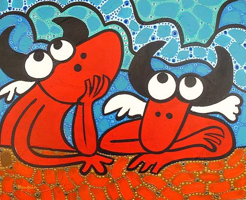 little devils by Parodias de Pinturas Famosas