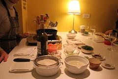 法式海鮮燉飯備料