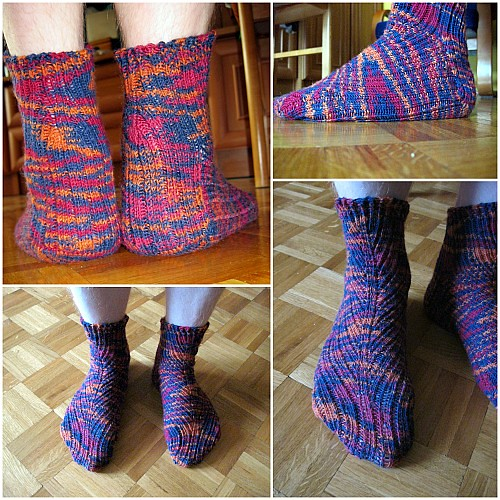 Different Rib socks