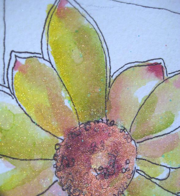 protea shimmering detail