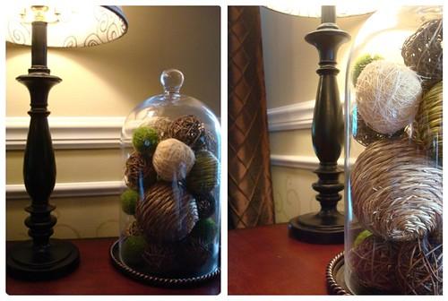 Thrifty Chick's cloche.jute balls