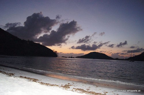 Seychellen, März 2011, sunset