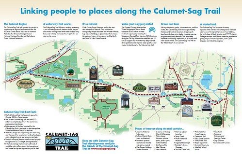 Proposed Calumet-Sag Trail (Shared Use Path)
