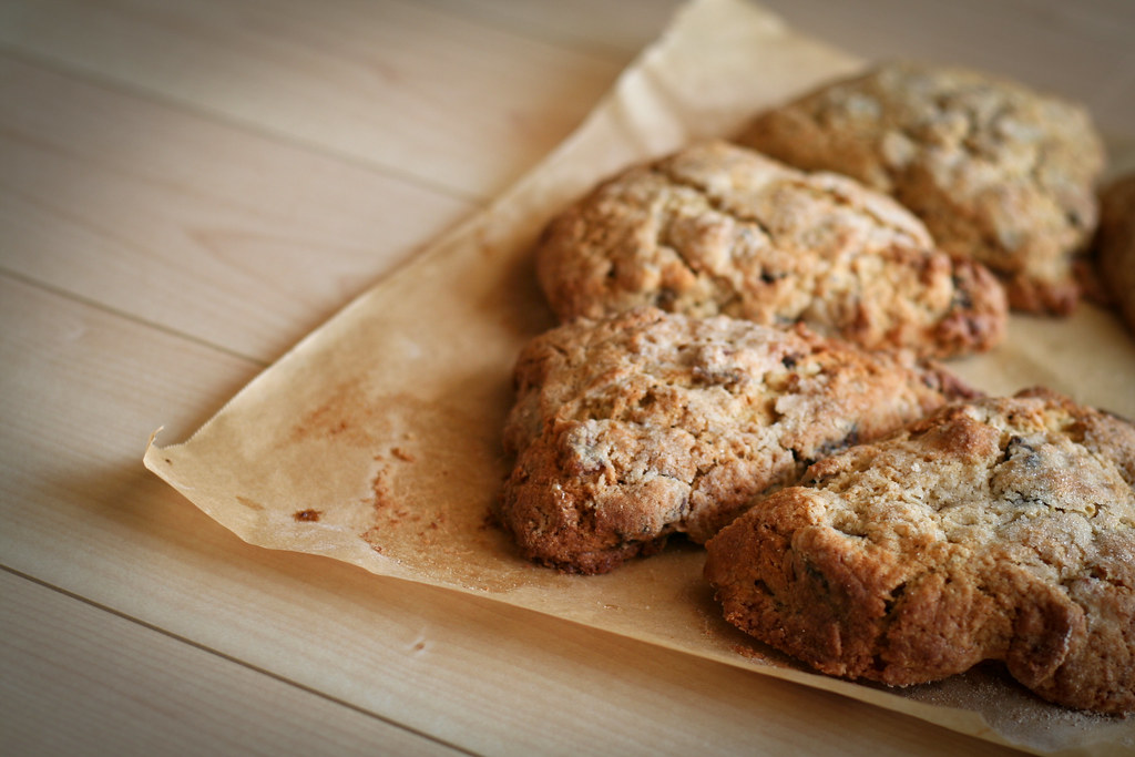 Bacon, Black Pepper and Fig Scones