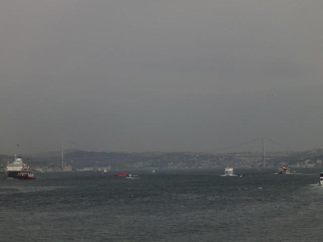 Ponte do Bosforo em Istambul