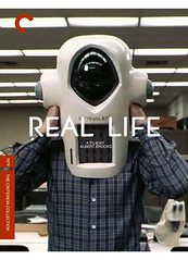 Real Life (fake) (Marc Palm AKA Swellzombie) Tags: fake pseudo reallife dvdcover scarecrowvideo albertbrooks criterioncollection