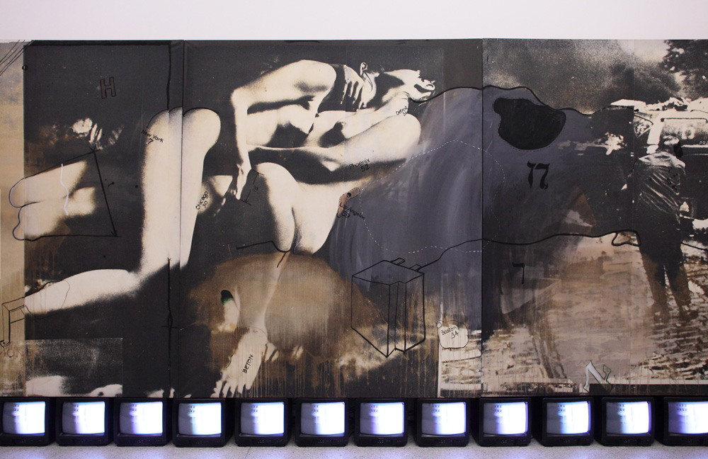 Wolf Vostell, Heuschrecken [Grasshoppers], 1969-1970 3