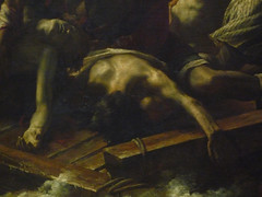 GÉRICAULT, Raft of the Medusa with Detail of Back (modeled by Delacroix)