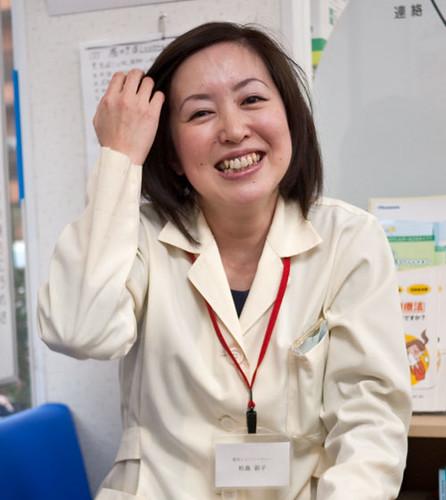 Ayako Matsushima, Pharmacy owner