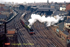 R1472  4472 Newcastle  May 1964 (Ron Fisher) Tags: newcastle a3 castlekeep flyingscotsman 4472 ecml uksteam