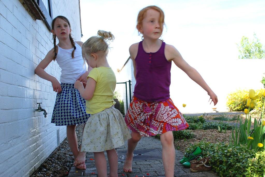 De minipolkadotjes op z'n zomers