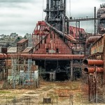 Carrie Furnace - Main Lawn - HDR