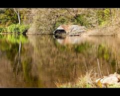 Reflections #2 - Loch Ard (Nurmanman) Tags: lake reflection scotland highlands stirling boathouse trossachs aberfoyle lochard lochchon