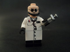 Hugo Strange (billbobful) Tags: city game strange video lego batman hugo asylum villian arkham