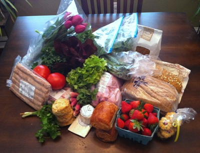 farmers market haul 04.09.2011