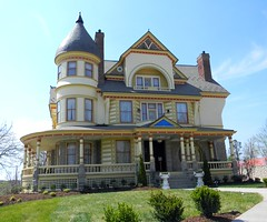 Queen Anne Mansion (bluerim) Tags: missouri arkansas carthage eurekasprings queenannestyle victorianperiod curtiswright