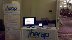 Picture of Therap Booth in UCP National Conference