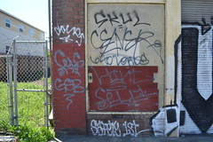 CEAVER, HINT, FELL, SAFETY 1ST (NMG Productions) Tags: streetart graffiti oakland 3a ck gsb fell hint tfl 640 safety1st ceaver dcups