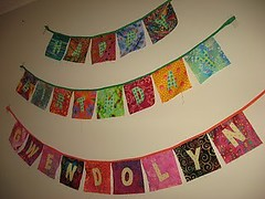 Birthday Banner/Bunting