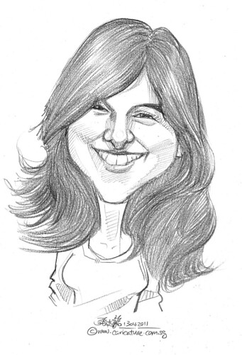 caricature in pencil - 66