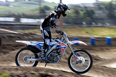 408MX (Canon Ace) Tags: road bike race canon honda eos rebel san jose goggles off x motorbike dirt spy moto motorcycle panning motocross mx motorsport optic 500d t1i 408mx