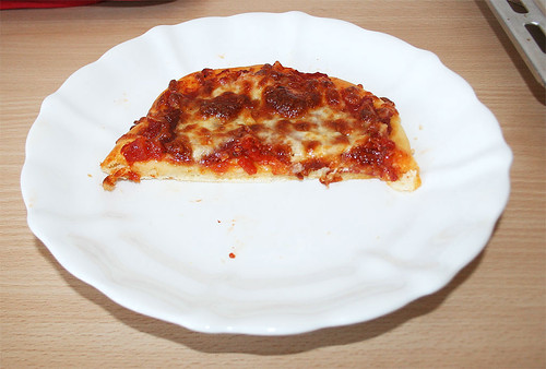 19 - Quark-Ölteig Pizzastück