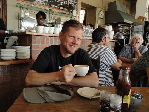 Morning coffee in Kalk Bay